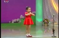Cute Chinese Girl Singing