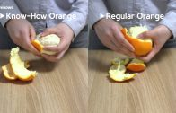 How To Peel An Orange (Without Knife)