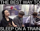 The Best Way To Sleep On A Train