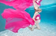 Underwater Maternity Photo Session