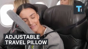 Adjustable Travel Pillow For Max Comfort