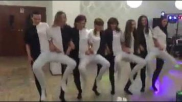 Crazy Dancing At A Birthday Party