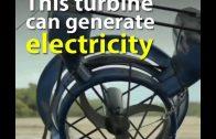 Amazing Underwater Turbine Generates Electricity