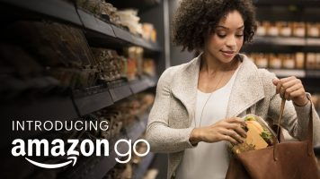 """Amazon Go Applies """"Just Walk Out Technology"""""""