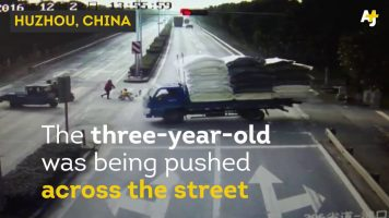 Boy Survives After Being Hit By A Truck