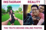 A Truth Behind Instagram Photos