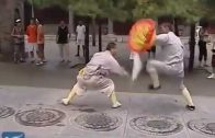 Kungfu Masters Perform Amazing Stunts At Shaolin Temple