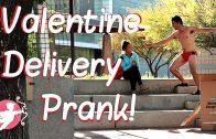 Funny Valentine Delivery Prank
