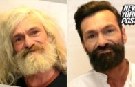 Homeless Man Gets A Makeover