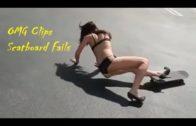 Funny Skate Boarding Girls Fails