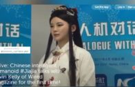 Chinese Smart Humanoid Robot Jiajia
