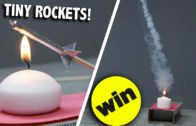 Make Your Own Mini Rockets From Matchsticks