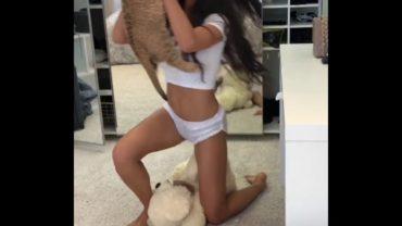 A Lion Cub Meets A Model Girl
