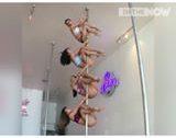 Amazingly Synchronised Pole Dancing