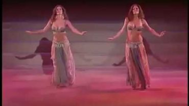 Great Belly Dancers Performing On A Live Stage