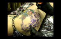 Lauren's New Hip Tattoo In Singapore