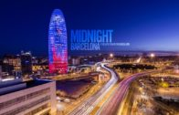 Midnight In Barcelona – Timelapse