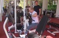President Putin Working Out In Sochi