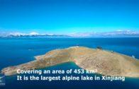The Sayram Lake (Xinjiang)