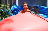 6ft Man In 6ft Giant Water Balloon