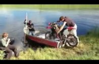 A Motorbike With A Motorboat
