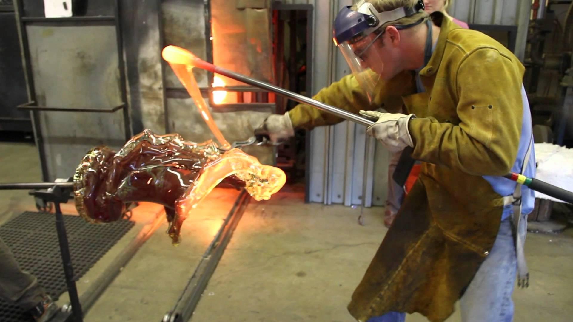 How The Glass Sculptures Are Made Videsta Com