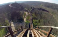 The Beast Wooden Roller Coaster